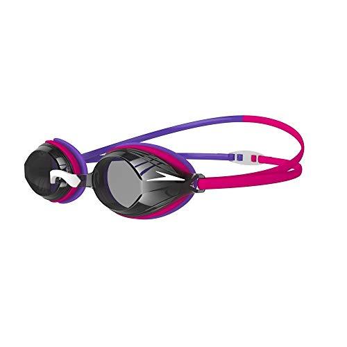 Speedo Unisex-Adult Vengeance Schwimmbrille, Electric Pink/Ultraviolett/Smoke, Einheitsgröße
