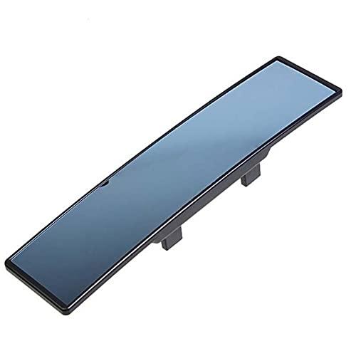ZJF Coche de Espejo Lateral Azul Dentro del Espejo retrovisor Espejo de Gran Angular después de la Lente Reflectante Vidrio Curvado (Color : Blue)