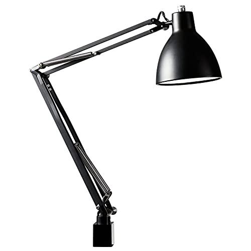 山田照明 Zライト LEDデスクライト E26LED電球 電球色 ブラック Z-00N B セード幅φ152mm・セード高162mm・アーム長300+360mm