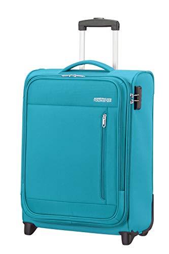 American Tourister Heat Wave - Upright S Handgepäck, 55 cm, 42 L, Blau (Sporty Blue)