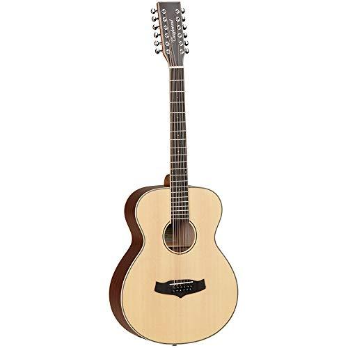 Tanglewood TW12 Winterleaf Super Folk Elektroakustische Gitarre (12 Saiten)