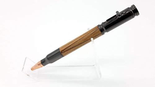 Geschenk für Jäger - Mauser K98k Originalschaft Repetierkugelschreiber - metalgun - Gravur auf Stift möglich