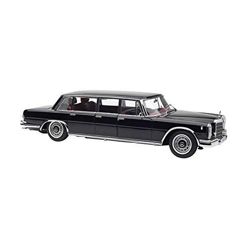 CMC 1/18 Scale die-Casting Model 1963 Model Mercedes-Benz 600 Pullman Limousine (W100) 6 Door Black Mercedes Benz - S-Class 600 Pullman W100 1963 1:18
