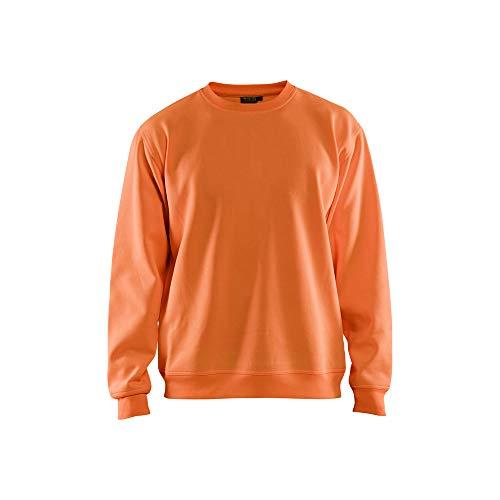 Blaklader 340110745300L High Vis - Sudadera (talla L), color naranja