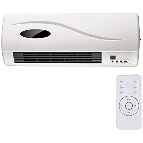 Deals - Ventilador de pared 2000 W blanco