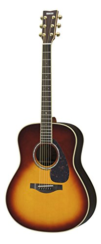 Yamaha L-Series LL6 Acoustic-Electric Guitar - Rosewood, Brown Sunburst