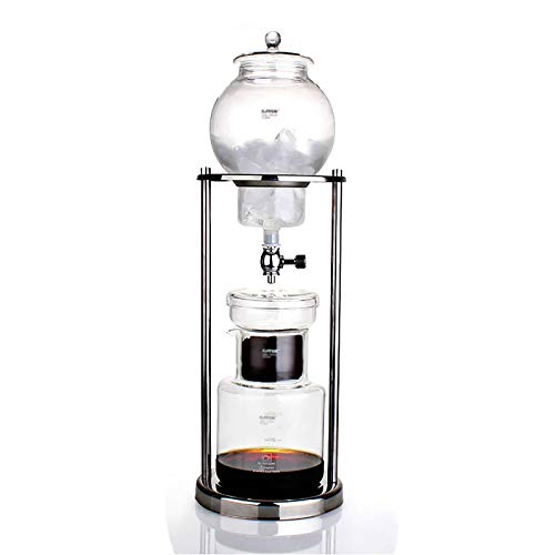 Fabricante de café con goteo frío de acero inoxidable de...