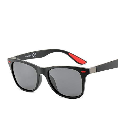 Gafas de sol gafas de sol polarizadas gafas de pesca equitación arena negro rojo arroz clavo gris rodajas