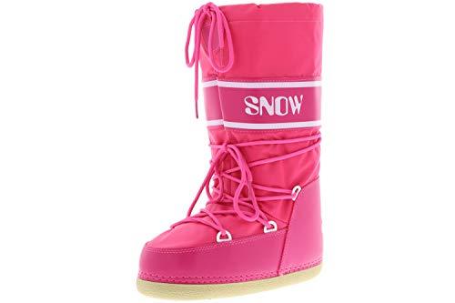 Vista Damen Winterstiefel Boots pink, Größe:38/39/40, Farbe:Pink