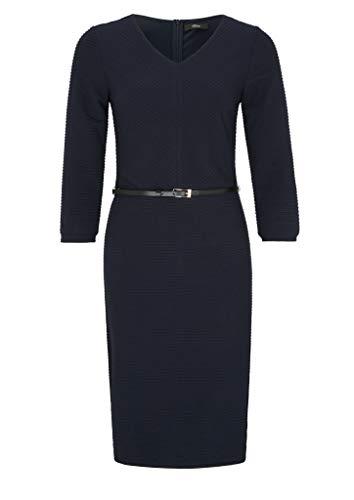 s.Oliver BLACK LABEL Damen Formales Kleid, Blau (Blau 5959), 46
