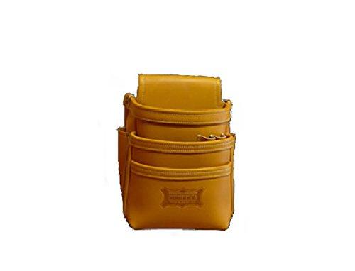 ニックス 最高級硬式グローブ革3段腰袋(キャラメル) KGC-301DD