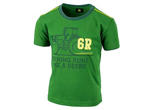 John Deere Kinder T-Shirt 6R, Grün, 104/110