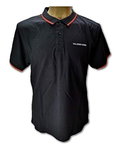 McLaren Honda F1 Team - Polo para mujer, color negro