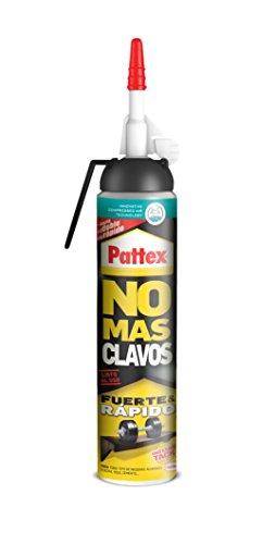 Pattex No Mas Clavos Pega Express, adhesivo de montaje fuerte, multimaterial, 200 ml
