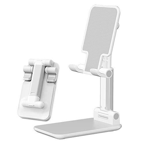 Supporto pieghevole per telefono cellulare, inclinabile, altezza regolabile, supporto per telefono cellulare, iPad, Kindle, tablet