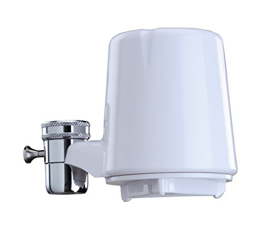 Culligan FM-15A Faucet-Mount Advanced Water Filter, 200 Gallon, White 2 Provide your family with visibly clean, great-tasting water for drinking, cooking and more FEATURES: Reduces azine, chlorine, lindane, lead, particulates class I, turbidity while removing bad taste/odor; Carbon block filtration method; Flow rate of 0.5 gpm at 60 psi; 30-100 psi pressure range; 40-100°F temp range; Easy installation with no tools COMPATIBILITY: Includes adapters for all standard sink nozzles (does NOT fit drop-down faucets)
