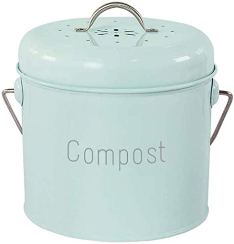 Read About zaizai Compost bin Kitchen Table Compost Collecting Container Kitchens, Antique Cream Col...