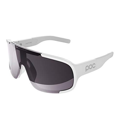 POC Aspire Sunglasses, Unisex Adulto, Hydrogen White, One