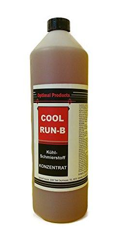 Optimal Products Kühlschmierstoff 1 Liter Kühl-Schmierstoff CoolRunB Bohrmilch Konzentrat