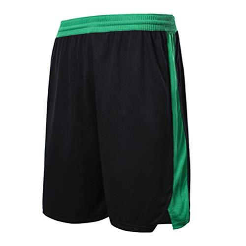 Boston Celtics Basketball Shorts für Männer mit Taschen Shorts Long Pack für Jungen, Fitness Sport Training Shorts Frauen Laufen Loose Shorts (C,XS)