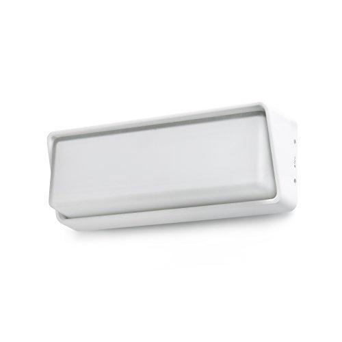 Faro Barcelona 71536 HALF LED Lampe applique blanche