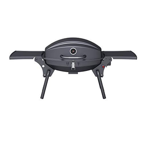 Portable Gas BBQ Grill with Free Accessory Pack Includes BBQ Cover and Utensil Set