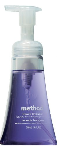 Method Foaming Hand Soap, French Lavender, 10 Ounce (Pack 1)