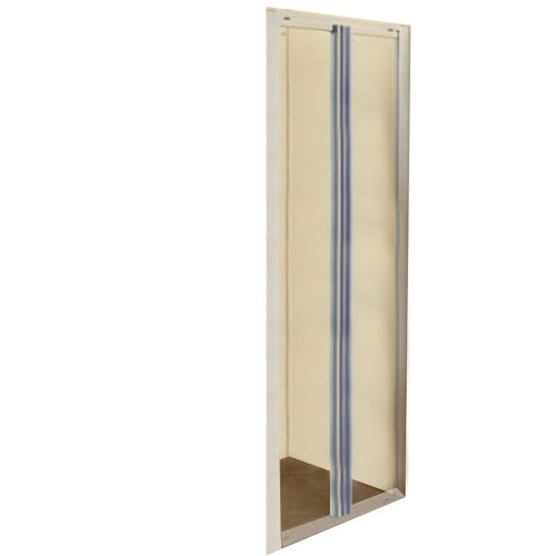 Porte de douche 2 porte crist / tra. swing cm.65/70