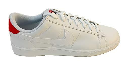 Nike Men's Tennis Classic CS Sneakers White University Red Size 11