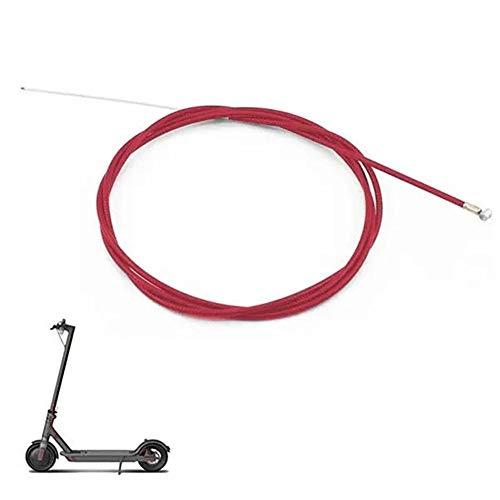 GHDHTY For xiao-mi M365 Vespa 200 cm Vespa Trasera Línea de Freno de Acero Trenzado de Alambre de la Manguera del Freno Tubo Cable de Freno de Bicicletas para Scooter eléctrico
