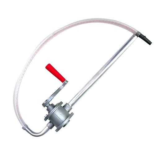 N / A Manovella in lega di alluminio pompa olio auto camion carburante benzina gasolio trasferimento mano pompa aspirazione acqua chimica liquido accessori auto