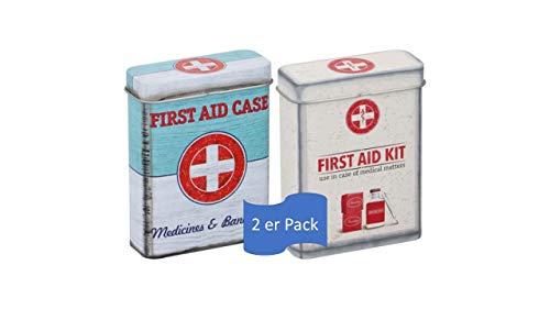 Nostalgic Pharmacy - First Aid Kit, Vorratsdose Flach