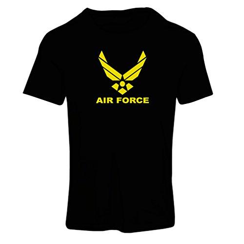 lepni.me Camiseta Mujer United States Air Force (USAF) - U.