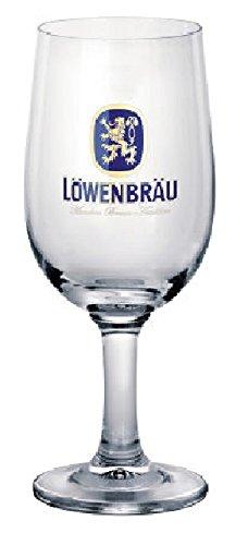 Vaso de cerveza Lowenbrau 40 cl. Juego de 6 unidades.