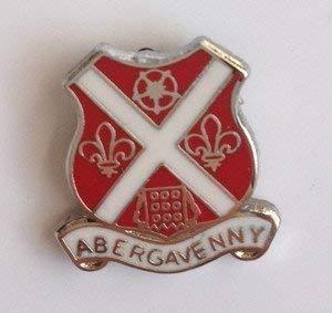 Perno de la solapa insignia de esmalte Abergavenny
