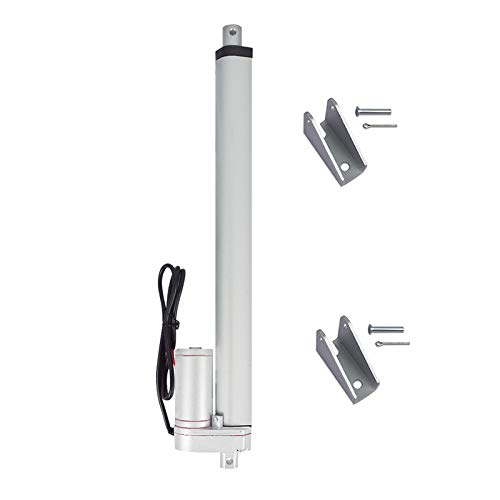 Tonysa 200mm Stroke Linear Actuator High Duty 750N Straight Line Electric Linear Actuator 24V