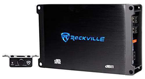 Rockville dB12 2000w Peak / 500w RMS @ 2 Ohm CEA Compliant Mono Car Amplifier