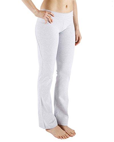 Chin Mudra–Pantaloni di yoga Chic–GRIGIO, grigio, S