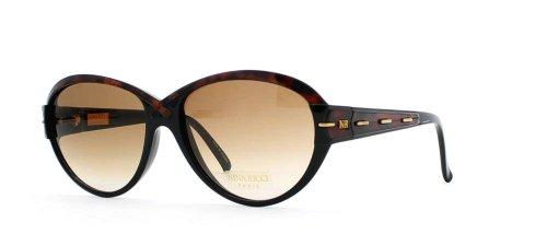 Nina Ricci 3008 1549 - Gafas de sol estilo vintage con certificado cuadrado para mujer