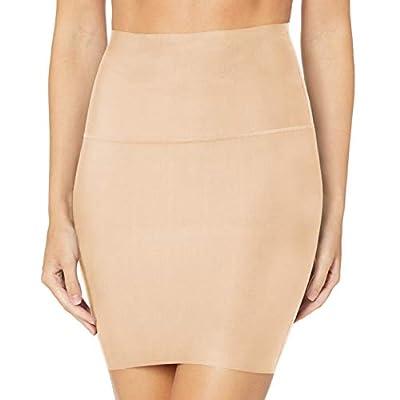Flexees Women's Tame Your Tummy Half Slip, Transparent, X Large