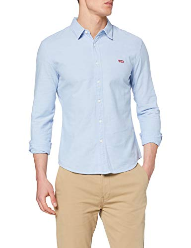 Levi's LS Battery HM Shirt Slim Camicia, Blue (Allure 0005), XX-Large Uomo