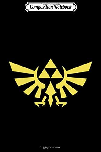 Composition Notebook: Legend Of Zelda Royal Crest Left Chest Pocket Logo  Journal/Notebook Blank Lined Ruled 6x9 100 Pages