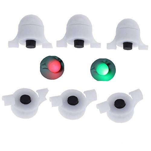 Angel Sensor Led-licht Nachtangeln Streik Alarm Glow Stick Bissanzeiger Angelausrüstung