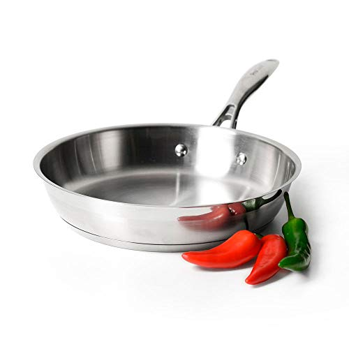 ProCook Professional Stainless Steel - Poêle à Frire...