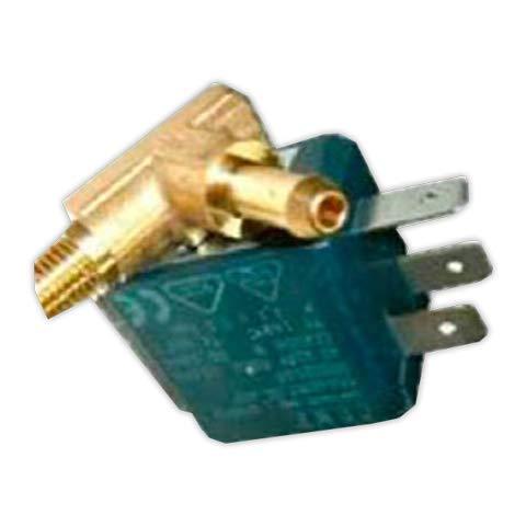 DOJA Industrial | Electrovalvula vaporeta izquierda 90° | Entrada 1/8 / Salida diámetro 6 mm