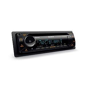 Sony MEX-N5300BT Autoradio mit CD, Dual Bluetooth, NFC, USB und AUX Anschluss, 35.000 Farben (Vario Color), Freisprechen dank Mikrofon