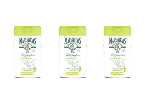 Le Petit Marseillais DCH - Crema hipoalergénica de savia de aloe y almendro en flor, 250ml, 3 unidades