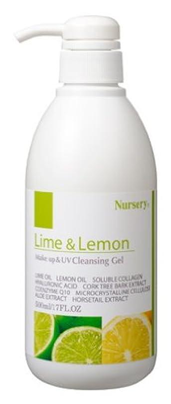 神経立派なカフェテリアナーセリー Wクレンジングジェル ライム&レモン 500ml