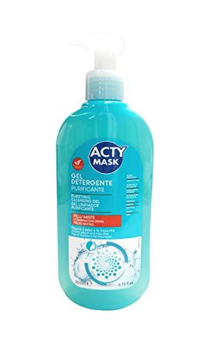 Acty Mask Gel Facial Purificante Pieles Mixtas 200 Ml 200 ml