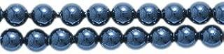 Swarovski 5810 Crystal Round Pearl Beads, 3mm, Night Blue, 50-Pack